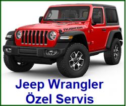 Jeep Wrangler Özel Servis Ankara